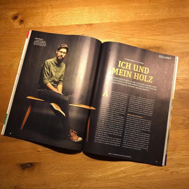 Ab heute zu haben... das neue @heimat_schwarzwald Magazin mit einem feinen Artikel über #feineich - Danke dafür! Zu lesen auch auf feineich.de —> ÜBER - Foto by @felixgroteloh #freiburgimbreisgau #offenburg #heimatmagazin #tietgepublishing #designmöbel #madeinsüdbaden