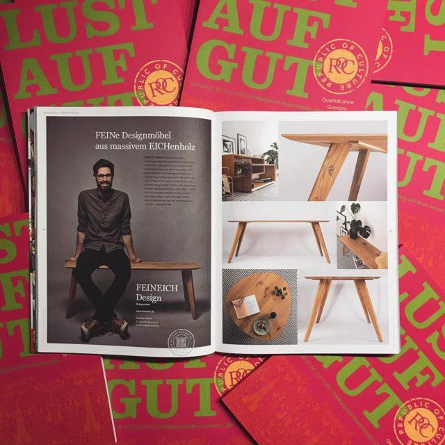 LUST AUF GUTe... #designmöbel von #feineich - #lustaufgutfreiburg #lustaufgut #madeinfreiburg